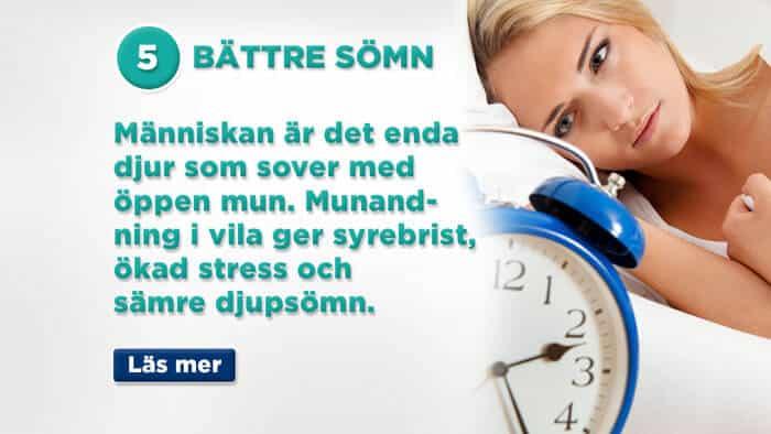 Andas bättre – sov bättre