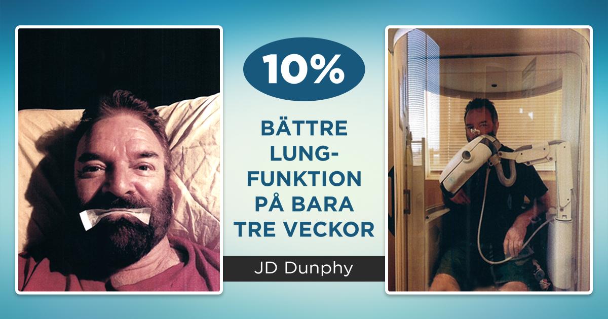 10% bättre lungfunktion på bara tre veckor