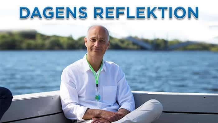 Dagens reflektion: Mindre kamp - Mer acceptans