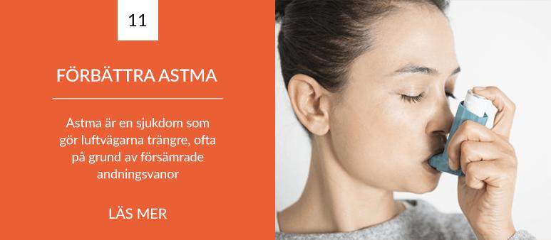 Förbättra din andning - Förbättra din astma