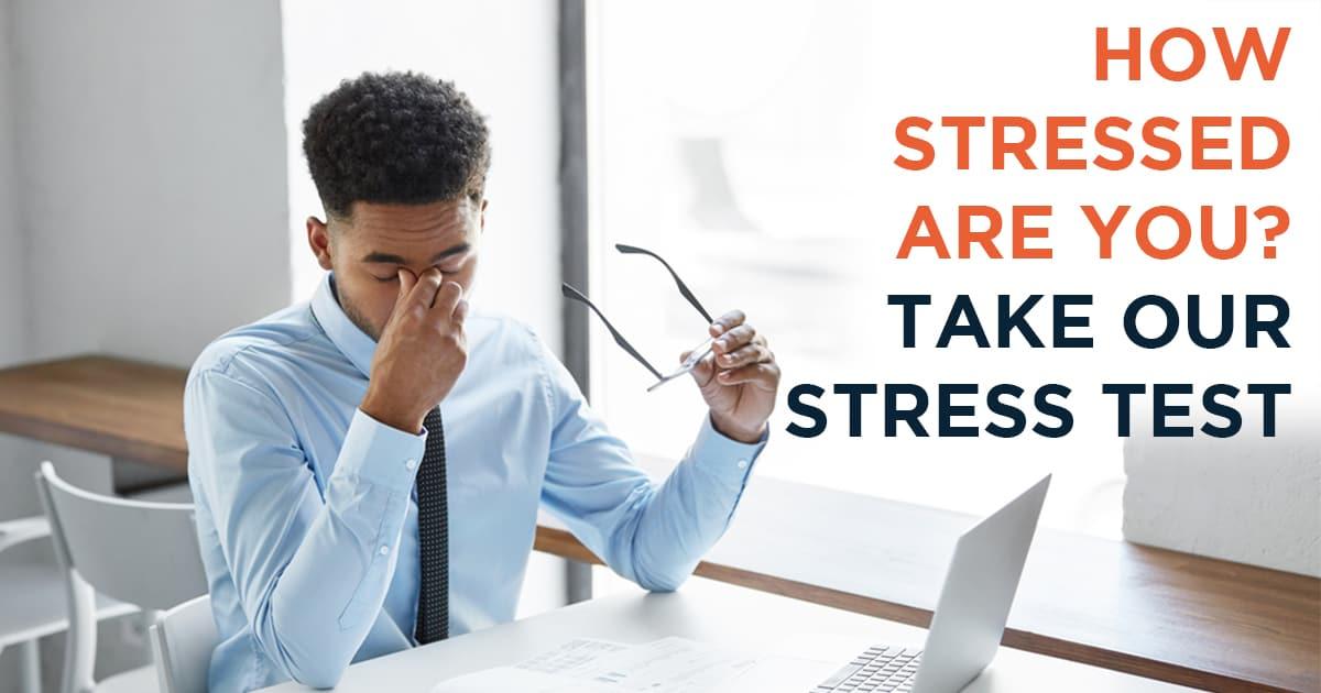 Gör vårt 3-minuters Stresstest - Kamp/Flykt/Frys-index
